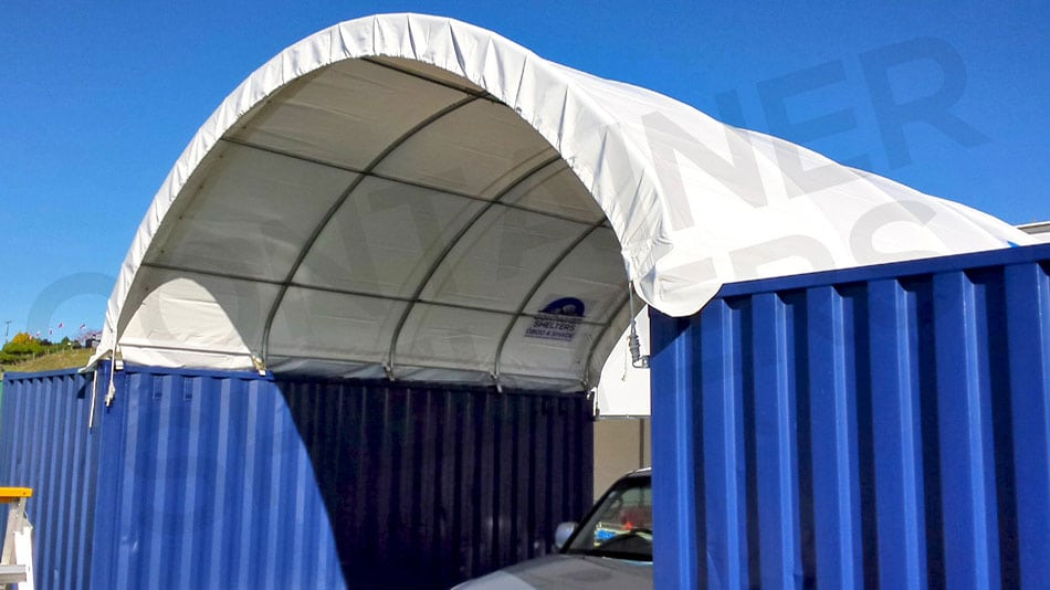 6m x 20' SS with 5 x Strong Portals & Purlins
