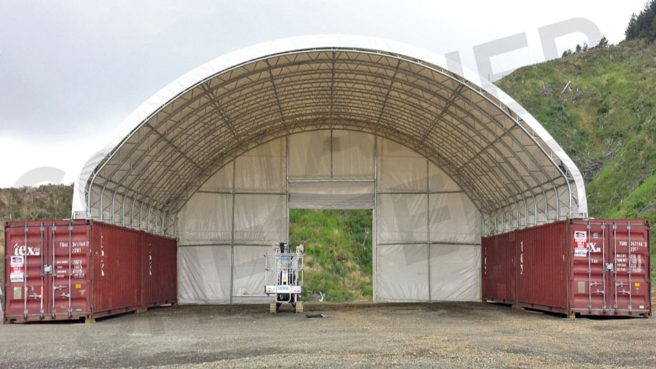 7.6m high & 14m wide - 11 Truss Portals - Huge Volume!