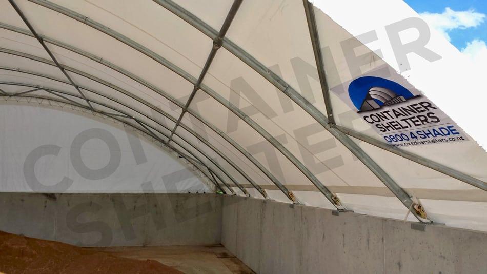 12m x 40' - 76mm Diam, Structural Steel Portals & Purlins - Versatile!