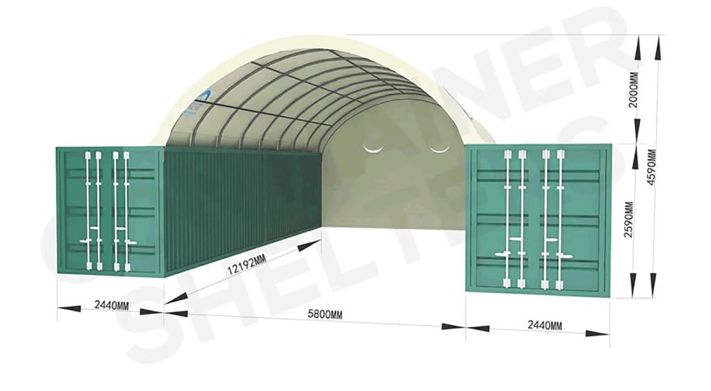 6m-Container-Shelter-with-end-panel